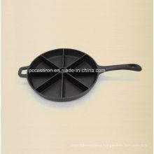 Bandeja de cozimento pré-temperada do ferro de molde