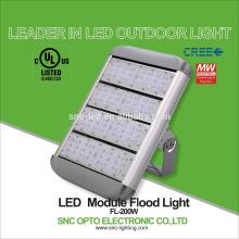 200w Commercial UL Driver Lighting LED Flood Light Sport Field Tennis Court Gym Led Light Stadium Led