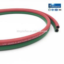 Qingdao Good Quality Textile Braid Flexible Rubber LPG Hose Welding Tube