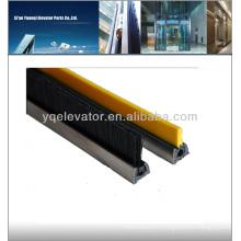 Brosse de sécurité en plastique à escalator