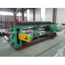 Straight and reverse twisted hexagonal wire netting mesh machine