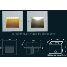 IP65 de alta calidad empotrada LED luz de la pared del paso (817187)
