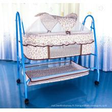 Bébé simple Lit bébé avec moustiquaire