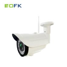 Venta caliente 1.3mp bullet red visión nocturna cámara ip 1080p opcional h.264 onvif p2p cctv al aire libre wifi cámara ip