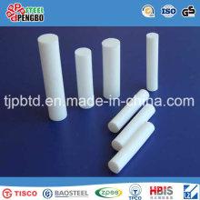 Barra redonda redonda rígida modificada para requisitos particulares del PVC del tamaño trabajado a máquina