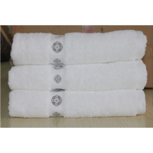 Luxury and fashional 100% cotton hotel bath towel , face towel and hand towel