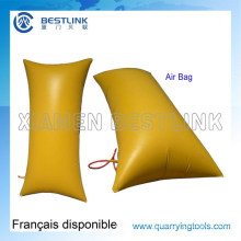 in Stock 1000*1500mm Air Pushing Bag for Marble Block