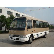 Mini-autocarro modelo coaster com 20-30 lugares de exportação para a áfrica