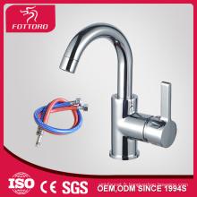 Robinet de salle de bains en laiton chromé placage MK23402