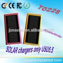 Cargador solar móvil portable solar Cargador solar recargable del teléfono inteligente del Usb para el caso del ordenador portátil