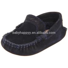 Chaussures plates enfant en cuir