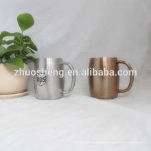 tazas de café de alta calidad de impresión de la insignia de encargo