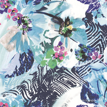 Tissu d'impression numérique de tissu de robe de femmes (TLD-0082)