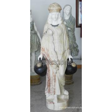 Carving Stein Marmor Skulptur Statue für Garten Dekoration (SY-C1287)