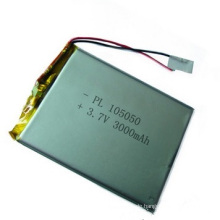 Großhandel Li-Polymer Akku 105050 3.7V 3000mAh