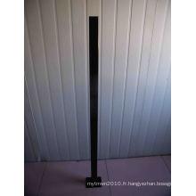 Poteau de clôture de piscine en Aluminuim de 1300mm de long avec bride