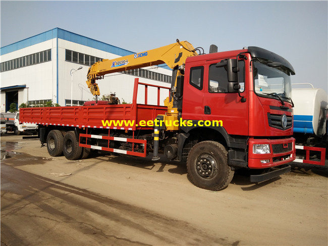 Dongfeng 16ton Truck with Cranes