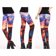 Тонкий уникальный дизайн штаны йоги, женские поножи