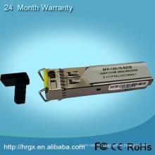 2 года гарантия модуль SFP 1550nm Приемопередатчика SFP и 80км