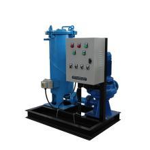 PLC Control Condenser Dispositif de nettoyage à billes en caoutchouc pour climatisation