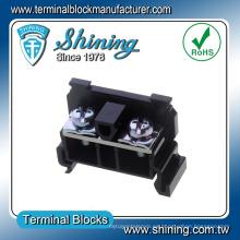 Conector de bloque de terminales de 40 amperios de montaje rápido en carril TR-40