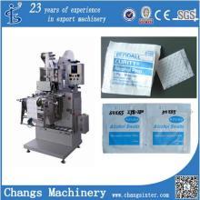 Máquina de empacotamento automática da almofada da preparação do álcool Zjb-250II / equipamento