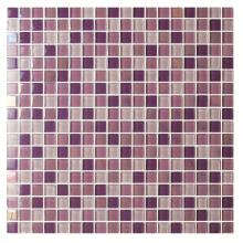 Mixcolor square shape 300x300x4mm Glass Mosaic Tiles