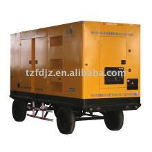 Low noise,mobile type diesel generator