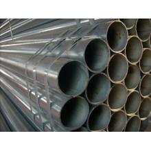 Material de tubería de acero pre galvanizado Q235