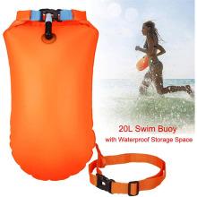 Bóia de segurança para natação em águas abertas de sobrevivência ao ar livre