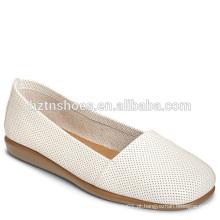 Senhoras Quadrado Moderno Toe Ballerina Shoes 2016 Novo Design