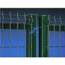 Ouverture de maille de barrière de grillage enduite de PVC 50X200 Mm