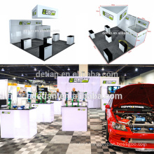 Detian Offer 20x20ft aluminum acrylic panel exhibition display