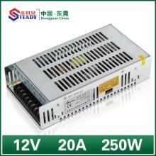 Fonte de alimentação de rede 12VDC 250W