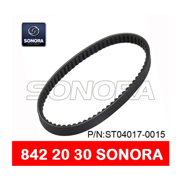 SCOOTER DRIVE BELT V BELT 842 x 20 x 30 MOTORCYCLE V BELT (P / N: ST04017-0015) CALIDAD ORIGINAL