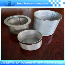 Cylindre de filtre en acier inoxydable 316L
