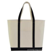 2021 new wholesale promotion cheap canvas bag reusable  simple canvas cotton shopping tote bag