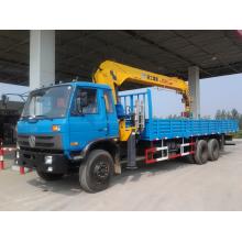 Guindaste montado caminhão Dongfeng 6x4 guindaste montado veículo