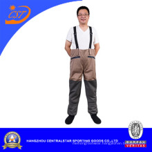 Men′s Breathable Waist Wader for Fishing Light Weight