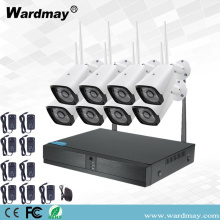 8CH 1080P HD Video Surveillance Wifi NVR Kits