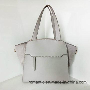Proveedor de Guangzhou Señora PU Bolsos de piel de peluche (Z-015)