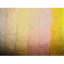 Tissu en tricot en dentelle