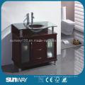 Мебель для ванной комнаты с напольным покрытием с раковиной