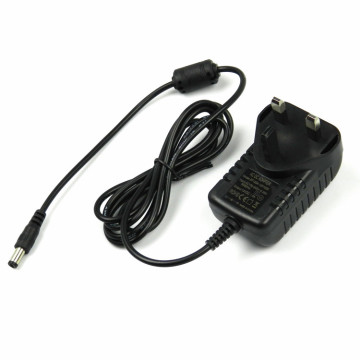 12VDC 1500mA UK Plug in Power Supply Adapter