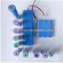 hot selling ICR 18650 battery 2200-2600Mah blue PVC/power bank battery