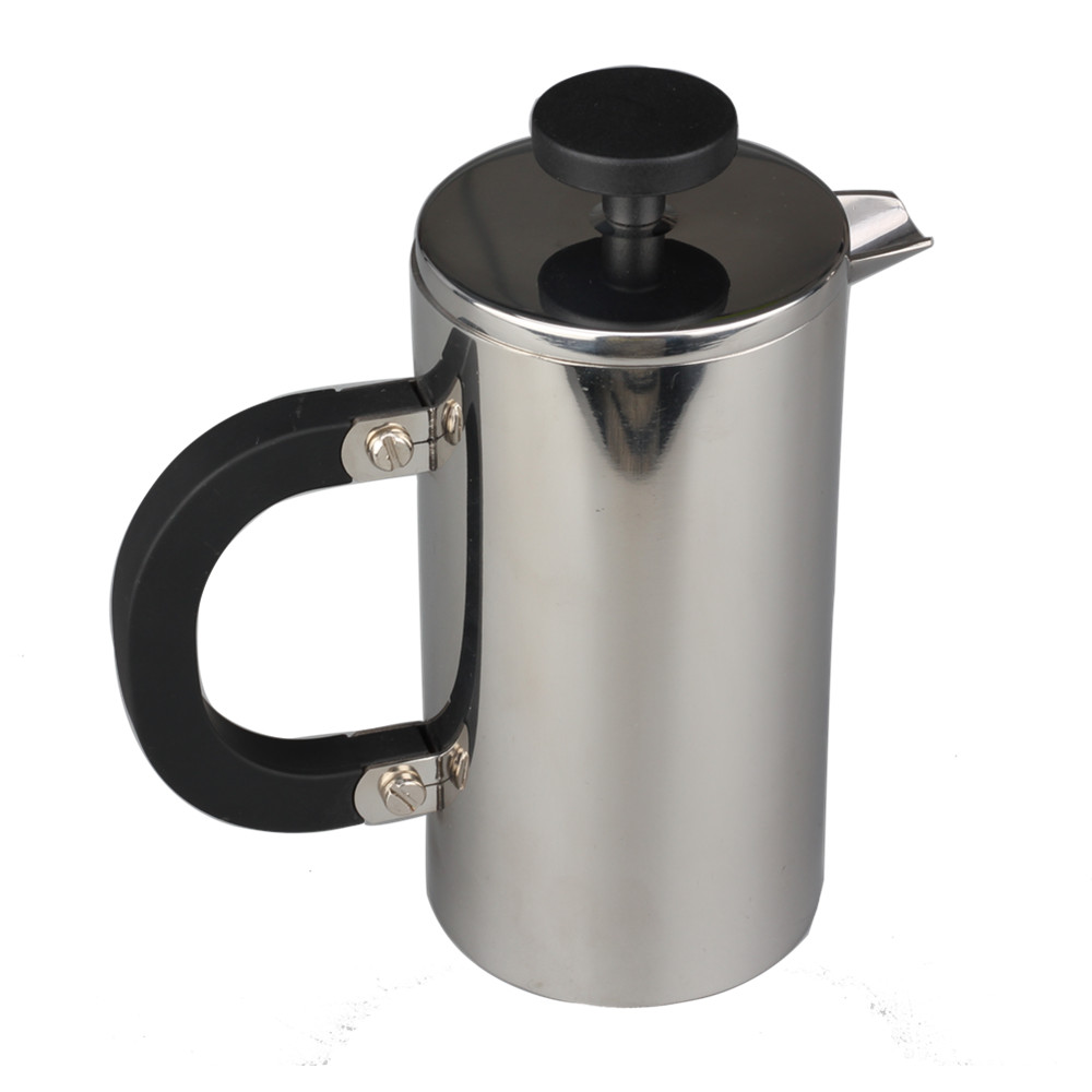 Food Grade Stainless Steel Double Wall French Press With Perfect Spout