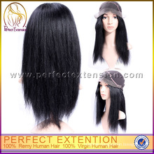 For Women 24 ''Natural Hairline Beyonce Hair Indian Remy Lace Wigs