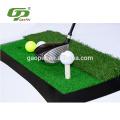 Fairway/Rough artificial grass rubber backing golf practice mat