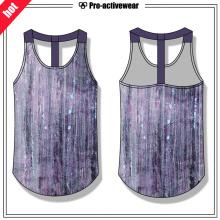 Venda Por Atacado Mulheres respirável Fitness Gym Tank Top