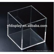 Quader Acryl Material Clear Box